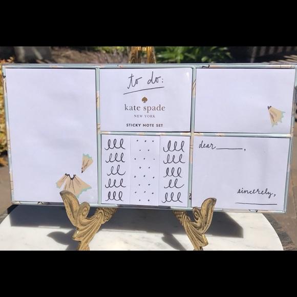Kate Spade Sticky Note Set - New